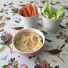 Hummus de garbanzos - Rocío Suárez Eytel