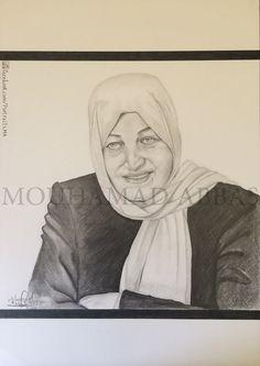 Bahiya Al Hariri #portraits #drowing #art #pencil #arts