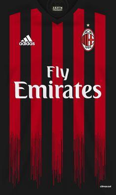 AC Milan 16-17 kit home