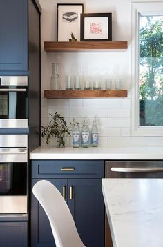 Kitchen Shelves Ideas Tiny House Appliances 98 Best Open Shelving Images In 2019 Dining Rooms Houses Classic Casual Home For Your Navy Cabinets