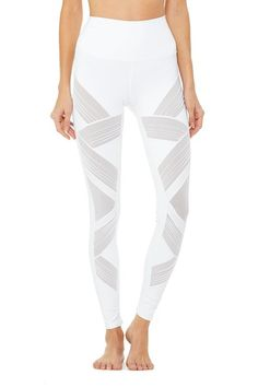 0a240ef45e1e8 Alo White Ultimate High Waist Activewear Bottoms Size 8 (M, 29, 30) 43% off  retail