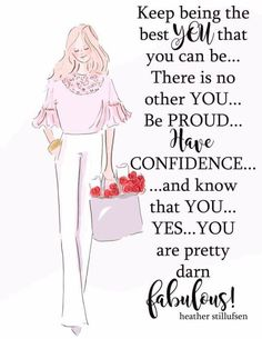 Rose Hill Designs by Heather Stillufsen Girl Quotes, Woman Quotes, Me Quotes, Funny Quotes, Lady Quotes, Positive Quotes For Women, Positive Thoughts, Positive Vibes, Meaningful Quotes