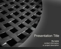 Free dark background template for PowerPoint #PowerPoint #templates