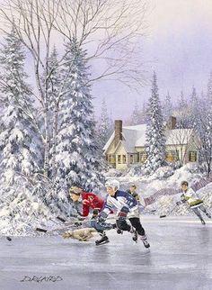 Seasonal Hearth: Hockey Night in Canada