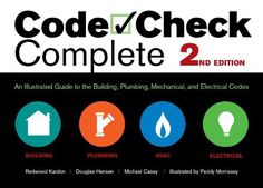 Illustrated guide to the national electrical code 7th edition by code check complete 2nd edition an illustrated guide to the building plumbing mechanical fandeluxe Image collections