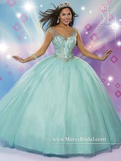 Mary's Bridal Beloving Collection Quinceanera Dress Style 4675