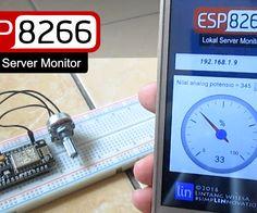 ESP8266 Web Server Monitor & Its Android App