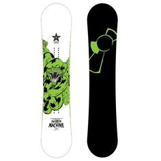 @Capitacz #CapitaSnowboards understands that creating their wares can have a negative impact on the #environment. That is why they made the #GreenMachine: a truly killer #board made mostly from #eco-friendly materials.