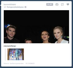 Umm... This doesn't really have to do with The Hunger Games but... Wow Josh Hutcherson is short!!!!