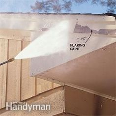 We share a ton of pressure washing before after results here paint will flake as you pressure wash a house but you still have to scrape malvernweather Choice Image