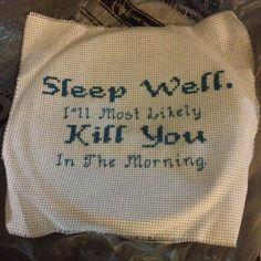 Princess Bride inspire cross stitch