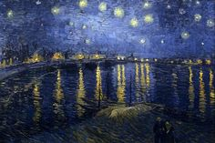 Have you ever noticed the Big Dipper in van Gogh's 'Starry Night over the Rhone'?