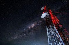 Kehidupan mahasiswa Teknik Telekomunikasi - Learning with penguin Radios, Radio Wave, Data Transmission, Galaxy Print, Milky Way, Civilization, Mobiles, Outer Space, Information Technology