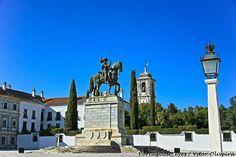 Estátua Equestre de D. João IV - Vila Viçosa - Portugal