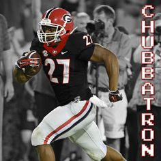 Nick Chubb - maybe rocking the black jersey this year?