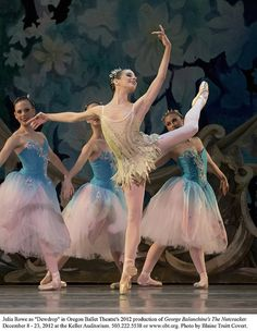"Julia Rowe as ""Dewdrop"" in Oregon Ballet Theatre's production of George Balanchine's 'The Nutcracker'"