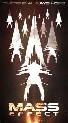 Mass Effect Poster by maxmanax on deviantART