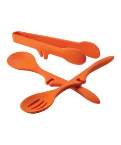 Look what I found on #zulily! Orange Lazy Tool Set by Rachael Ray #zulilyfinds
