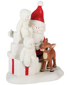 f5c59d600c95a Department 56 Snowbabies Team Rudolph Collectible Figurine   Reviews - All  Holiday Lane - Home - Macy s