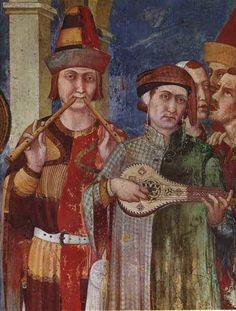 Affresco di Simone Martini presso la Basilica di S.Francesco in Assisi