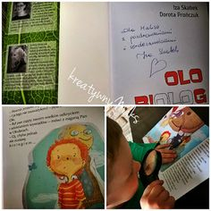 "kreatywnyMaks: "" OLO BIOLOG"" Montessori, Cover, Books, Biology, Libros, Book, Blanket, Book Illustrations, Libri"