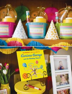 Curious George Party - Book for Guests to Sign (Make a Tradition)