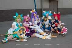 Full Star Guardian Team by Daraya-crafts
