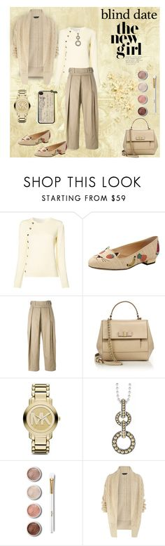 """""""Dress to Impress: Blind Date"""" by affton ❤ liked on Polyvore featuring Altuzarra, Charlotte Olympia, Salvatore Ferragamo, Michael Kors, Lagos, Terre Mère and Dorothy Perkins"""