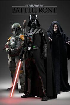 Poster: Star Wars Battlefront - dark side zum Verkauf online. Bestellen Sie Ihre Poster, Ihre 3D Film-Poster oder ähnliches interessantes Maxi Poster