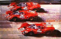 """1967 Daytona 24 Hour Race"" by Dexter Brown"