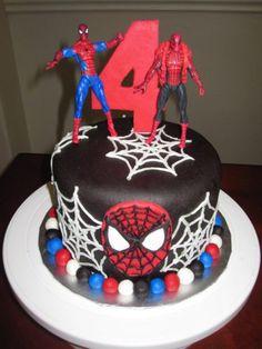 aniversario-bolo-homem-aranha