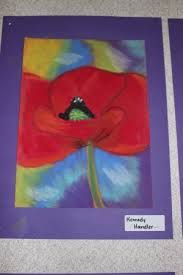 Remembrance Day Art More Remembrance Day Activities, Remembrance Day Art, Ww1 Art, Poppy Craft, 4th Grade Art, Grade 2, Anzac Day, Ecole Art, Middle School Art