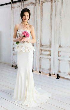 Josephine Wedding Gown. Simona Semen Bridal 2017.