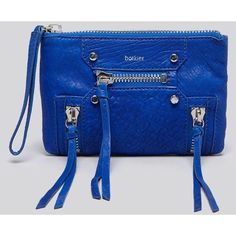 Botkier Convertible Wristlet - Logan (165 AUD) found on Polyvore featuring bags, handbags, clutches, wristlet purse, convertible purse, wristlet clutches, blue clutches and botkier handbags
