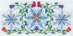 Machine Embroidery Designs at Embroidery Library! - Suzani