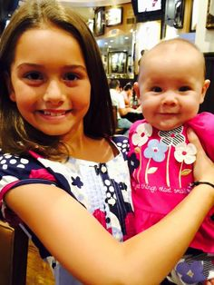 Shannon's 2 beautiful Daughters. Daughter's Day 2015
