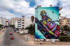 Deih for SbaghaBagha in Casablanca, Morocco, 2019 Photo by Hamza Nouino Casablanca Morocco, Graffiti Tagging, Moroccan, Times Square, Tags, Travel, Art, Viajes, Destinations