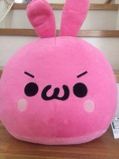 bunny emoji plush