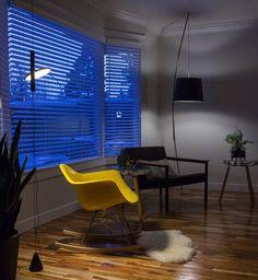 #eames #gusmodern #charleseames #hermanmiller #charlesandrayeames #flos #konstantingrcic #grcic #lamp #furnituredesign #industrialdesign #midcenturymodern #midcentury #furniture #interiordesign #instainterior #interior #instachair #instadesign #yellowchair #rockingchair #interiør #modernica #design #architecture #yegdesign #yycdesign #canadiandesign #interior123 #chair by ryspot