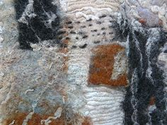 Felt detail with embroidery    by Fi@84, via Flickr