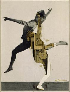 Hemathrodite (Metaphor Time) still from 'The History of Nothing' Collage on paper This collage is made up of an image of the dancer Rudolf Nureyev collaged together with machine parts. Eduardo Paolozzi, Pop Art Artists, Moholy Nagy, Collage Book, Rudolf Nureyev, Outsider Art, Photomontage, Light In The Dark, Art History