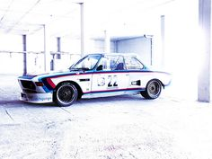 automotivated:   BMW CSL Batmobile (by essichgurgn)