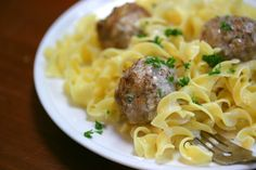 NYT Cooking: Finnish Meatballs - These irresistible, bite-sized meatballs are made from a combination of ground beef and pork, milk-soaked bread crumbs, grated Gouda cheese and a healthy spoonful of allspice. Meatball Recipes, Meat Recipes, Cooking Recipes, Yummy Recipes, Yummy Food, Giada De Laurentiis, Finnish Recipes, Pasta, Beef Dishes