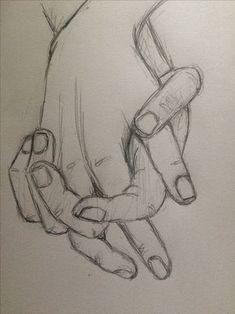Prática esboço segurando as mãos 4 - pinkishcoconut Zeichnungen iDeen ✏️ Drawing Tutorials Online, Online Drawing, Art Tutorials, Online Tutorials, Pencil Drawing Tutorials, Sketches Tutorial, Cool Art Drawings, Pencil Art Drawings, Hand Pencil Drawing