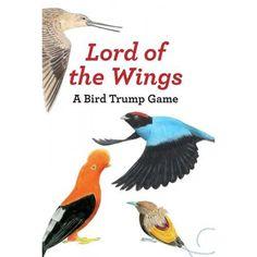 Lord of the Wings : A Bird Trump Game Wings Card, California Condor, Cocktail Book, Trump Card, Up Theme, Emperor Penguin, Bird Book, Funny Birds, Bird Cards