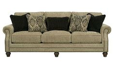 Bardwell - Patina Sofa    For my front living room someday :)