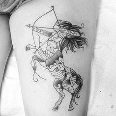 Sagittarius | 41 Cute And Unique Tattoo Ideas For Every Zodiac Sign