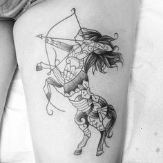 Sagittarius | 41 Cute And Unique Tattoo Ideas For Every Zodiac Sign