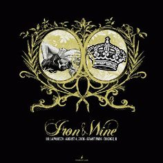 Iron & Wine music gig posters | ... Music Posters - Memorabilia, Concert Poster, Silkscreen, Poster Art