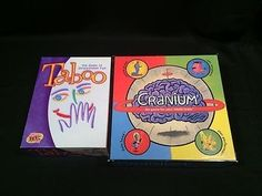 nice Cranium & Taboo Board Games Great for Family Game Night In Box - For Sale Check more at http://shipperscentral.com/wp/product/cranium-taboo-board-games-great-for-family-game-night-in-box-for-sale/
